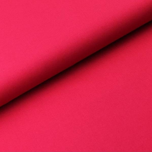 Baumwoll Stoff - Baumwolle - Uni - Dunkles Pink