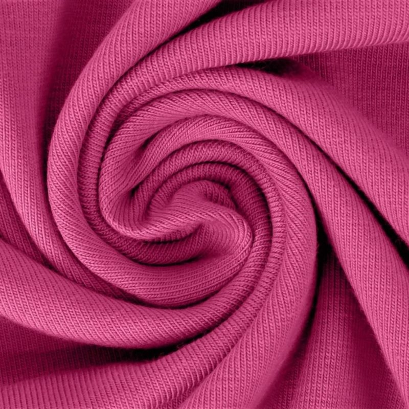 Sommersweat Stoff - French Terry - nicht angeraut - Fuchsia