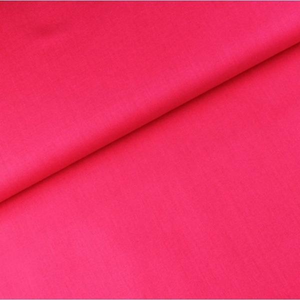 Baumwoll Stoff - Baumwolle - Uni - Pink
