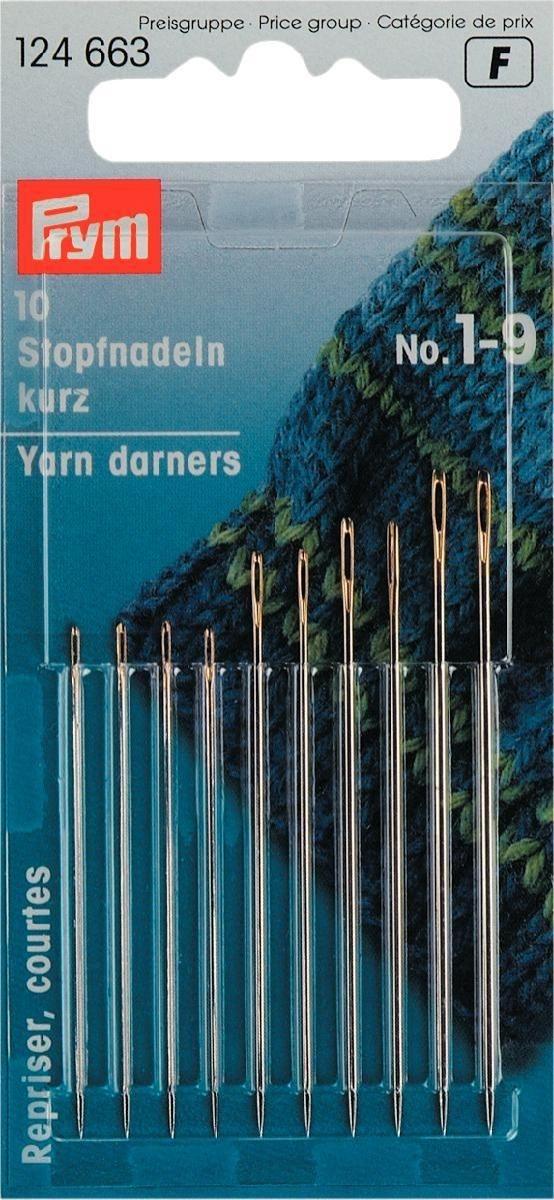 Prym Stopfnadeln kurz - No. 1-9