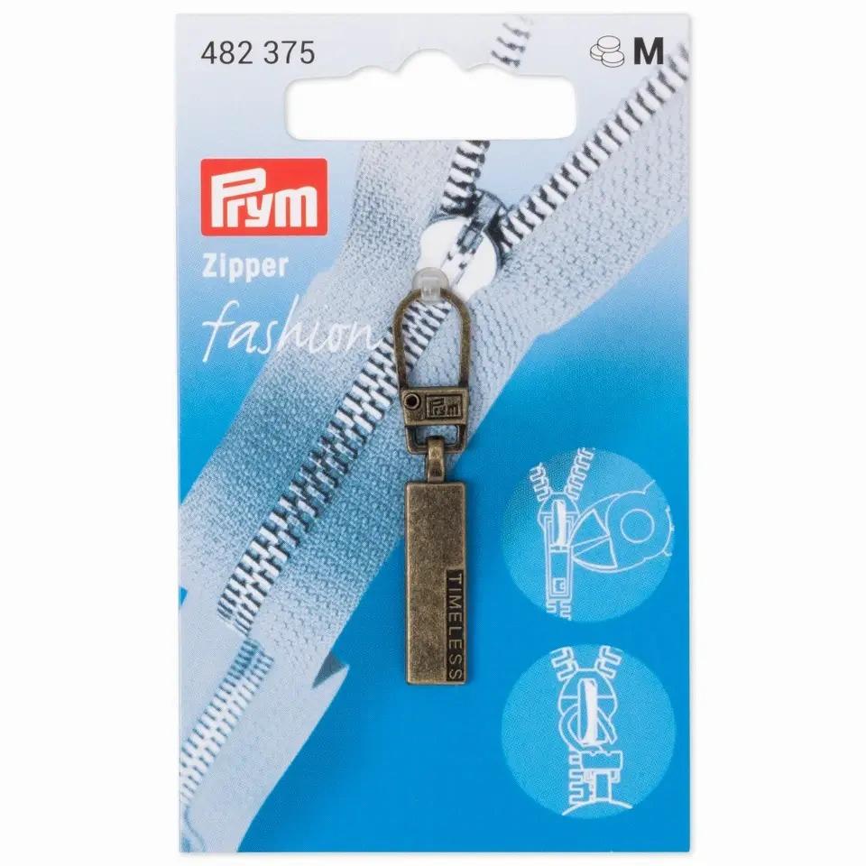 Prym Fashion Zipper - Classic TIMELESS - Altmessing - 482375