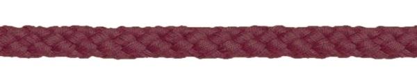 Bademantelkordel / Baumwollkordel - 8mm weinrot