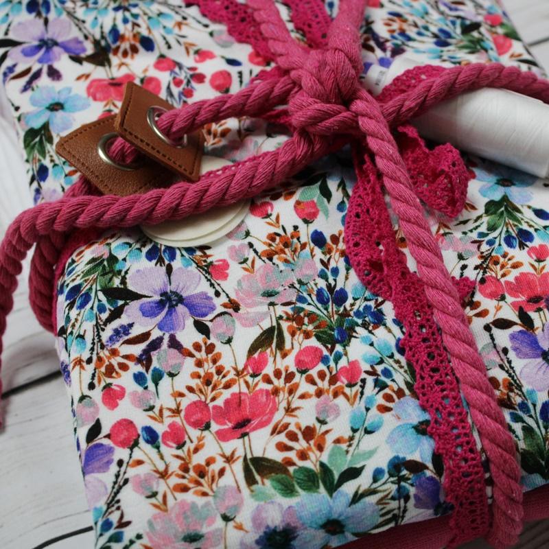 Stoffpaket - Blumen - Pink - Limitierte Auflage