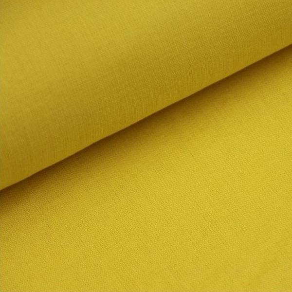 Baumwoll Stoff - Baumwolle - Uni - Gelb