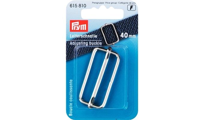 Prym - Leiterschnalle 40 mm silberfarbig