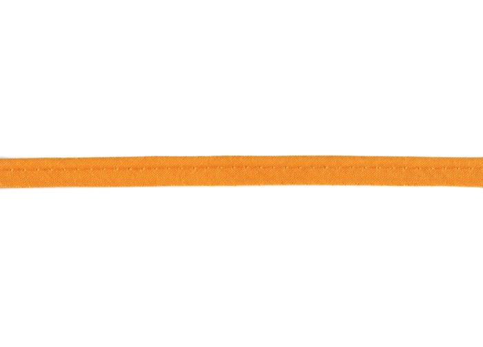 Baumwoll - Paspelband 8 mm Orange 693