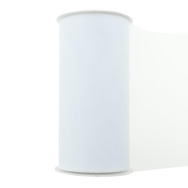 Tüll - Weiß - 150mm