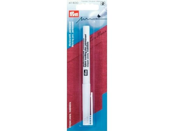 Prym Stoffmarkierstift extra fein permanent schwarz - 611800