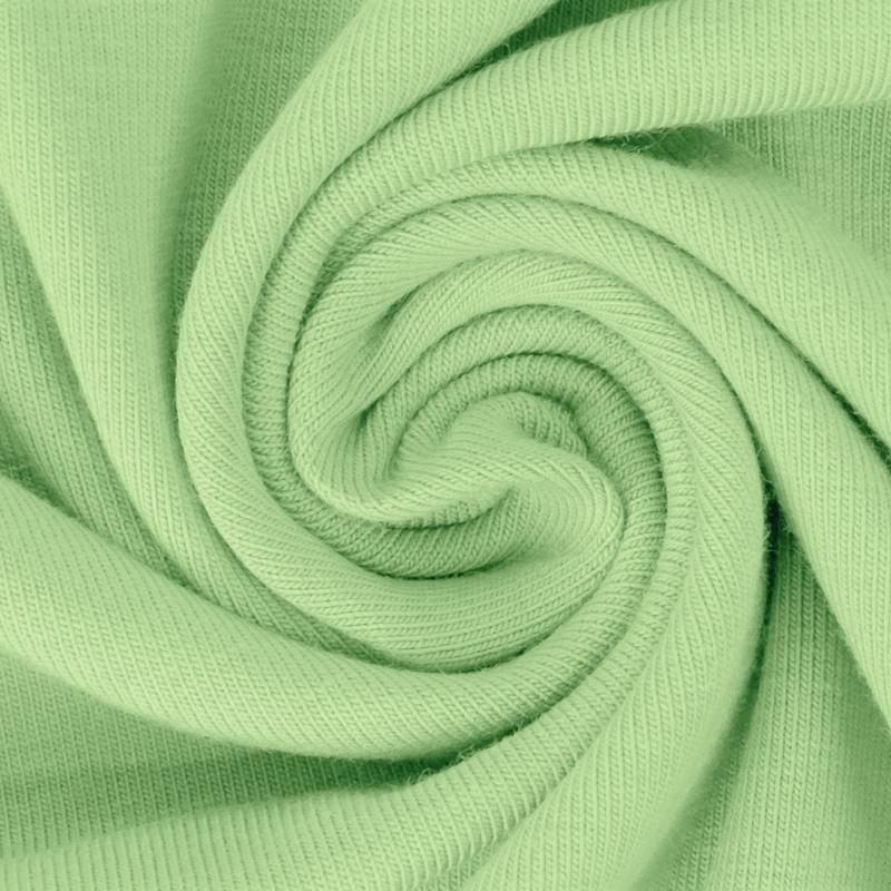Baumwolljersey - Jersey Stoff Uni - New Fashion Color - Pastell - Grün