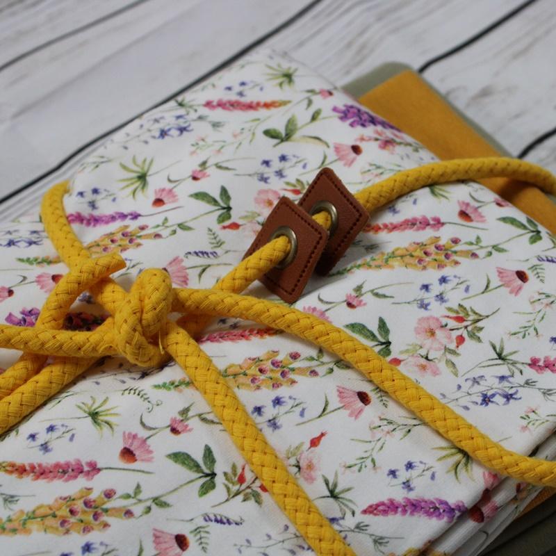 Stoffpaket - Blumen - Gelb - Limitierte Auflage - Unikat