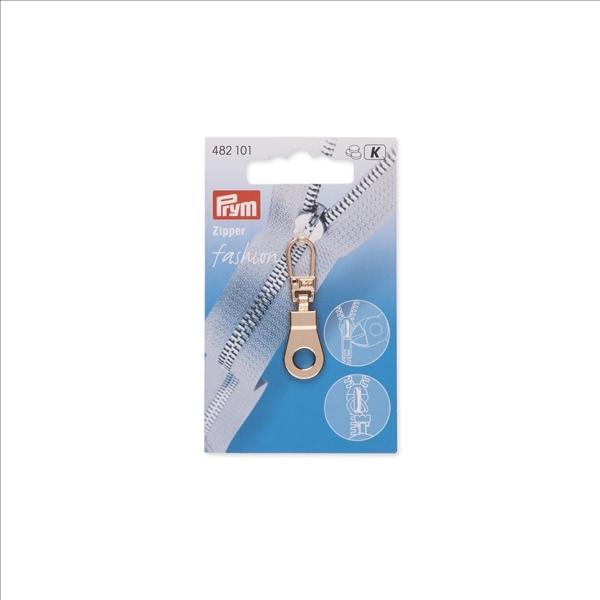 Prym - Fashion-Zipper, Öse, new gold 482101