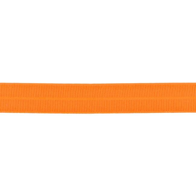 Elastisches Einfassband matt - Orange
