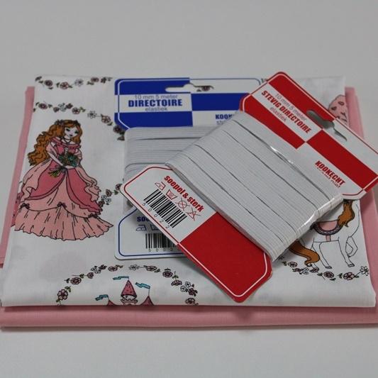 Stoffpaket Baumwollbox Maskenset - Mädchen