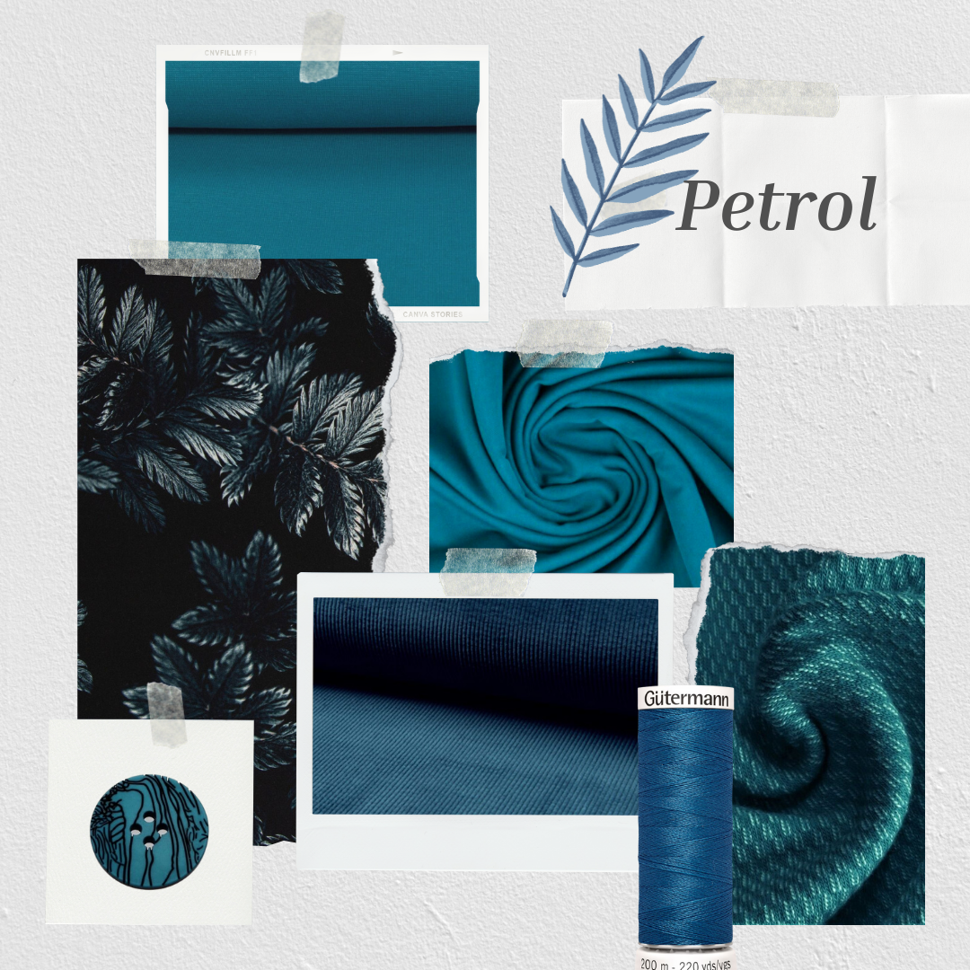 Inspiration - Farbwelten - Farbwelt Petrol