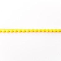 Bommelborte - Mini - 8mm - Gelb