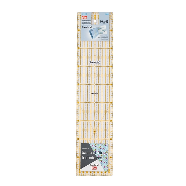 Prym - Universal-Lineal, 10x45cm 611318