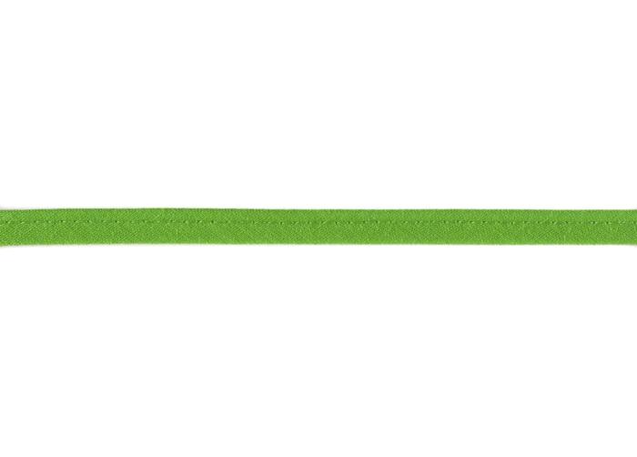 Baumwoll - Paspelband 8 mm Apfelgrün 495