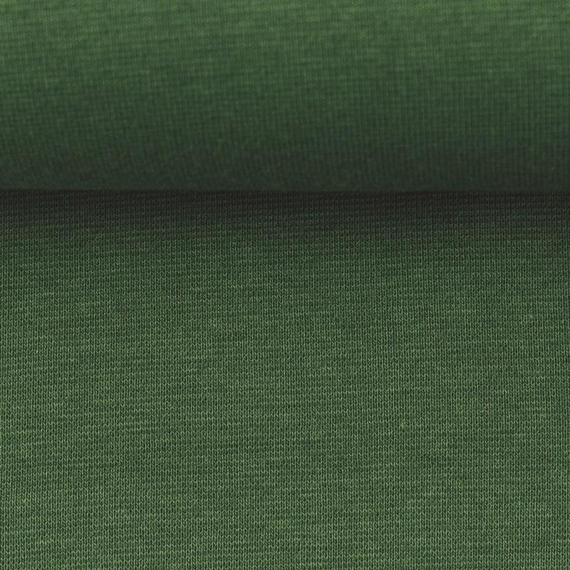 Heike, Schlauchware **Öko-Tex Standard 100**, Bündchen, uni, Khaki