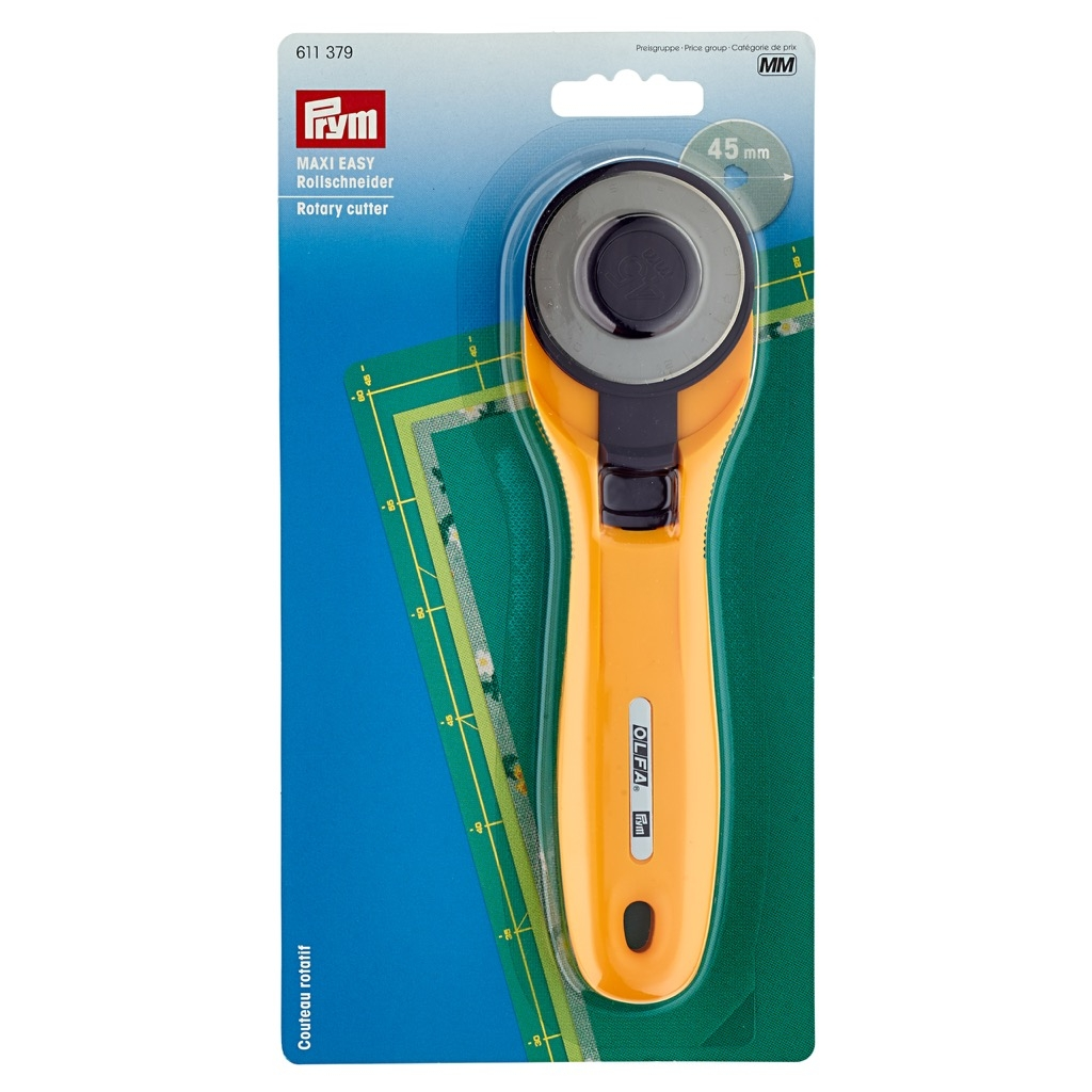 """Prym - Rollschneider """"Maxi EASY"""" 45mm - 611379"""