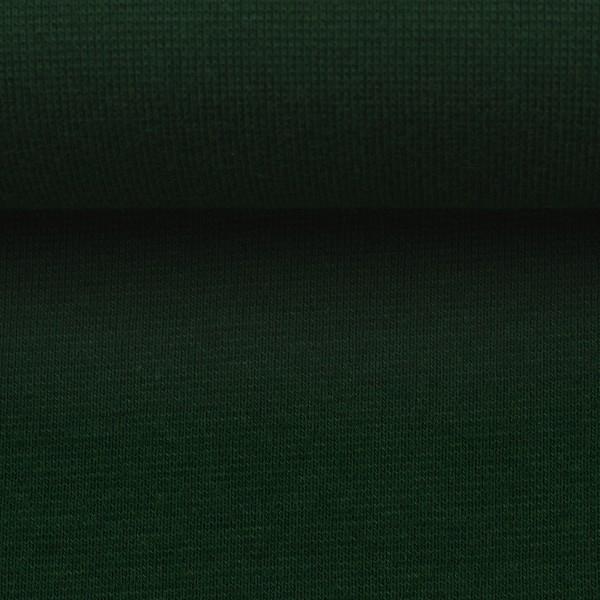 Heike, Schlauchware **Öko-Tex Standard 100**, Bündchen, uni dunkelgrün