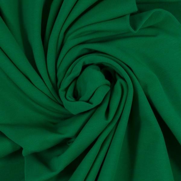 Baumwoll Jersey - Jersey Stoff - Swafing - Vanessa - Uni - Grasgrün