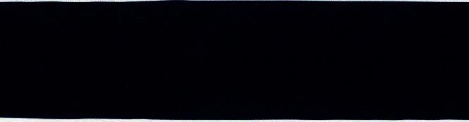 Prym Schrägband Baumwolle gefalzt Uni 40mm / 20mm - 903200 - Schwarz