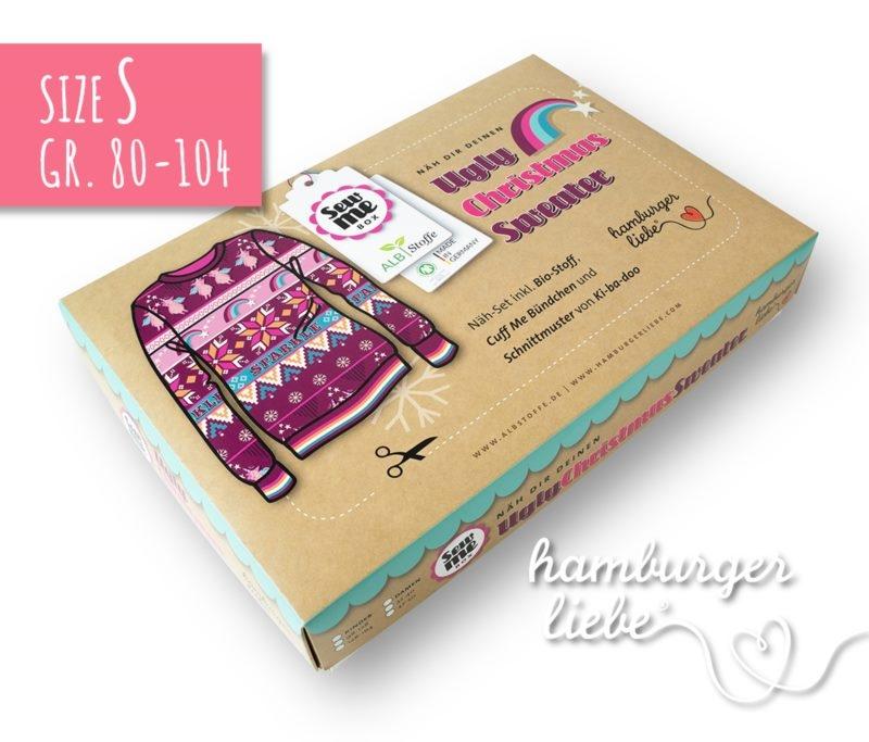 SEW ME BOX - NÄHSET Highlight von Hamburger Liebe & Albstoffe - Größe 80 - 104