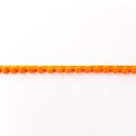 Bommelborte - Mini - 8mm - Orange