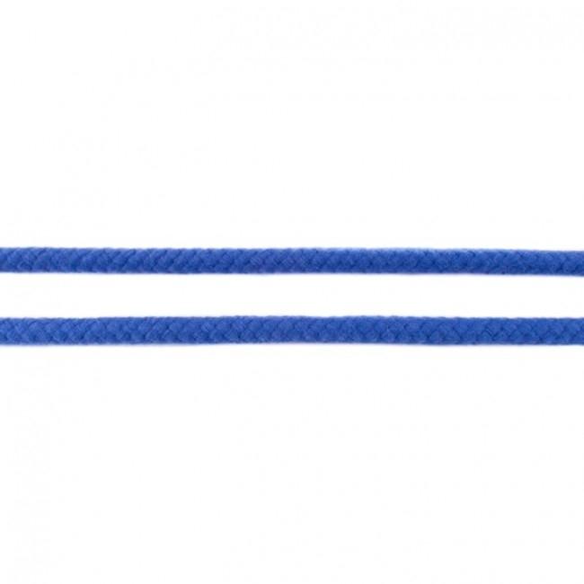 Doppelt gewebte Baumwollkordel - 8mm - Kobald