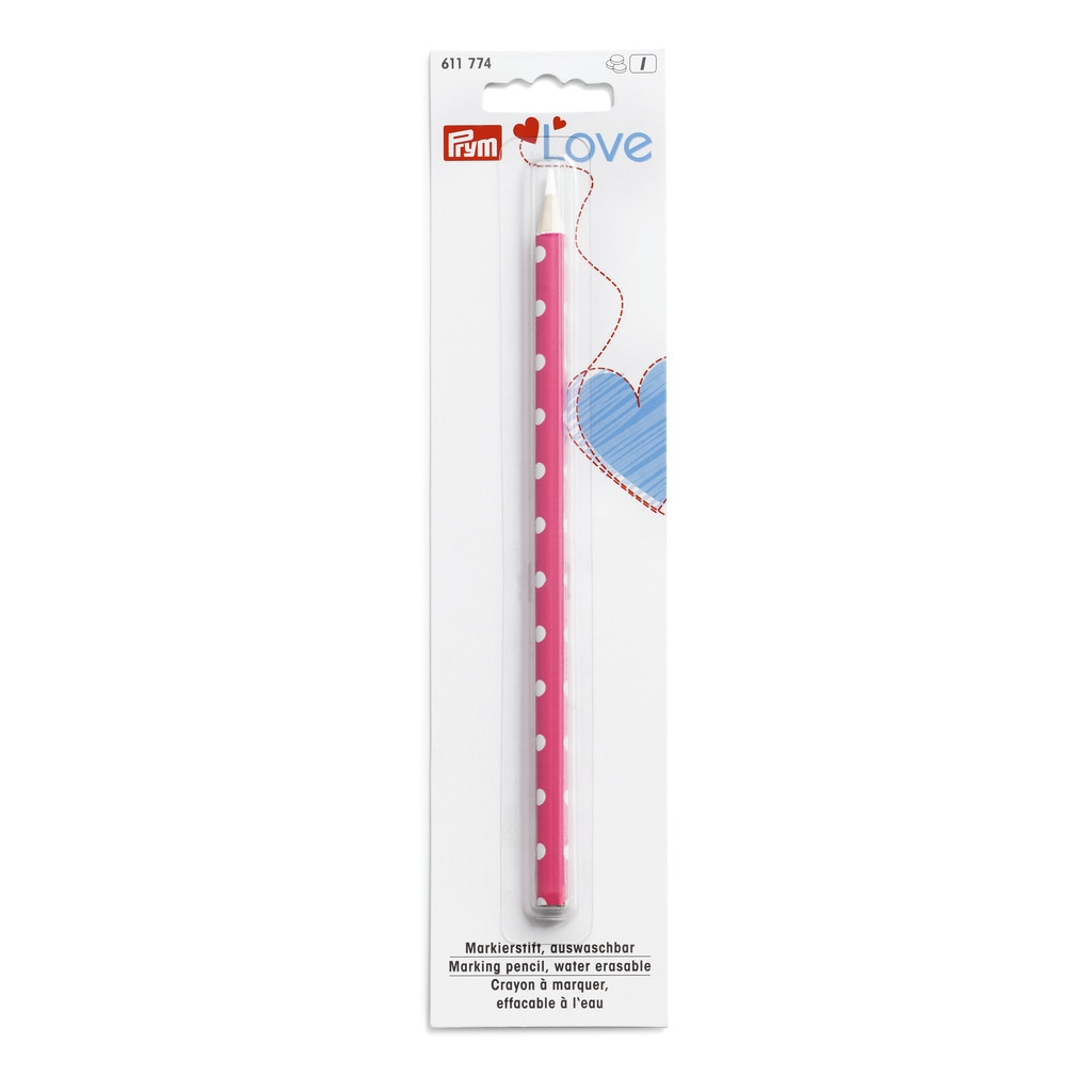 Markierstift, auswaschbar, weiß - Prym Love - 611774