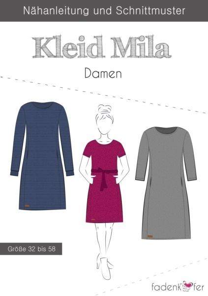 """Papierschnittmuster Fadenkäfer - Kleid """"Mila"""" - Damen"""