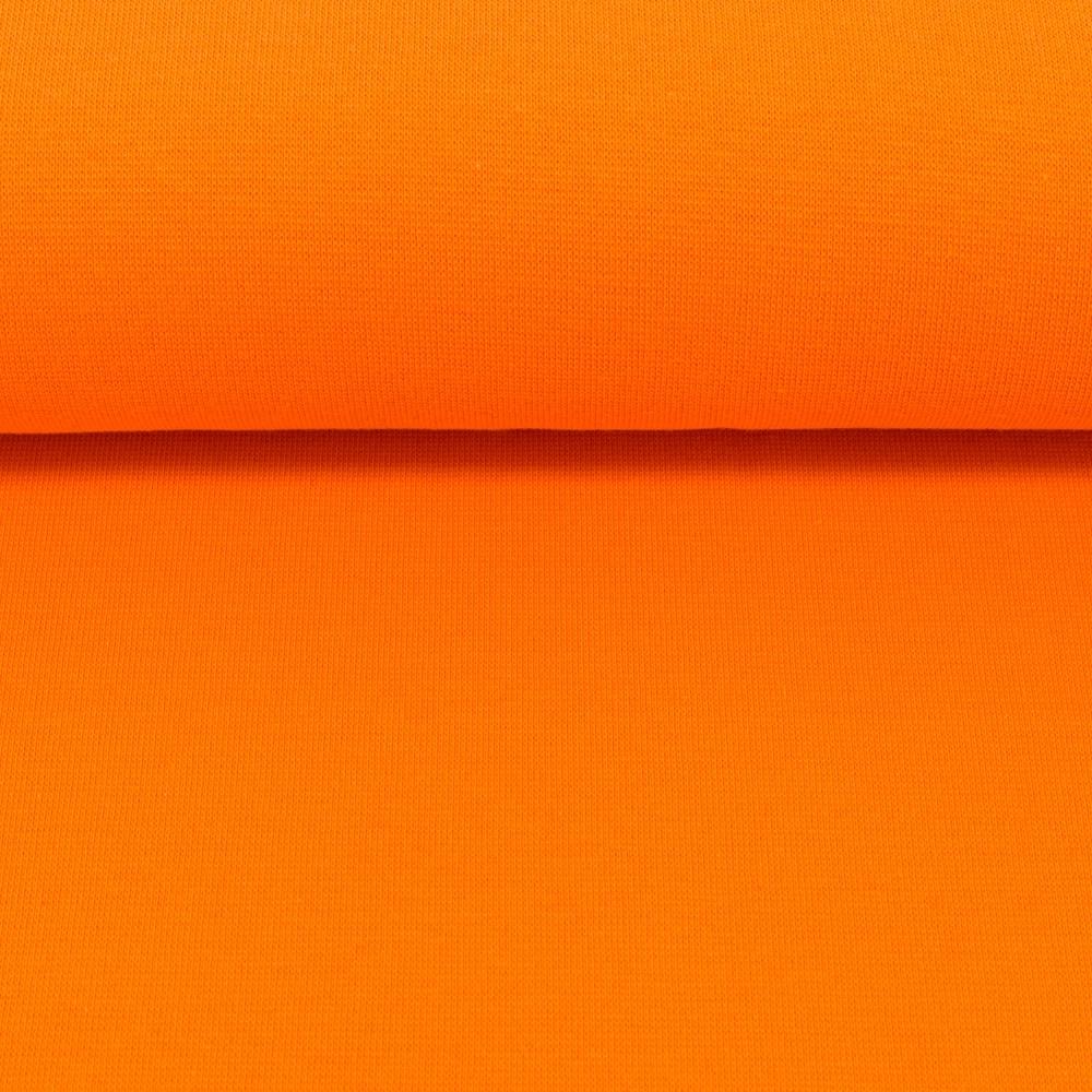 Heike, Schlauchware **Öko-Tex Standard 100**, Bündchen, uni, orange