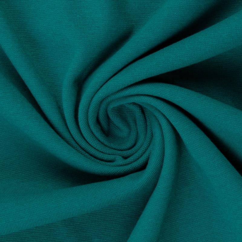 Heike, Schlauchware **Öko-Tex Standard 100**, Bündchen, uni, smaragd