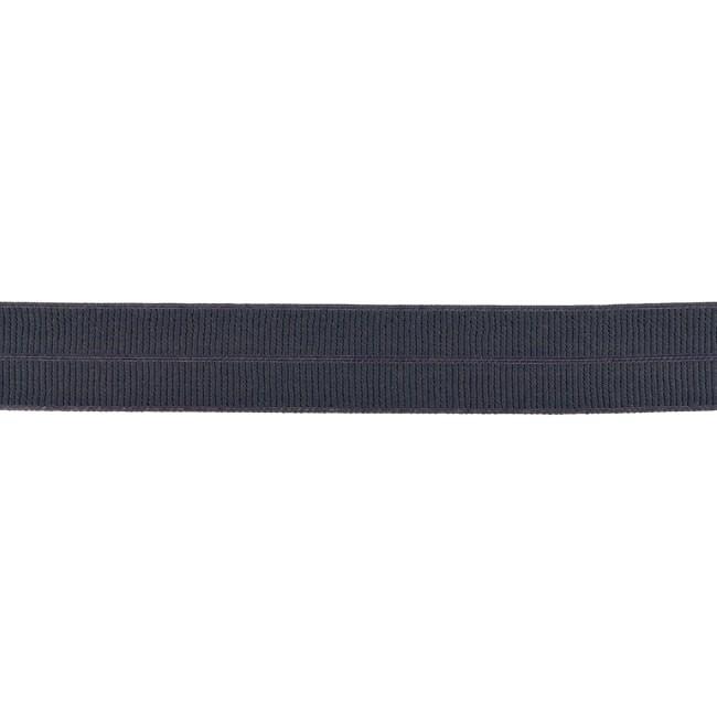 Elastisches Einfassband matt - Dunkelgrau