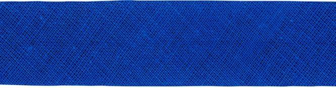 Prym Schrägband Baumwolle gefalzt Uni 40mm / 20mm - 903255 - Kobalt