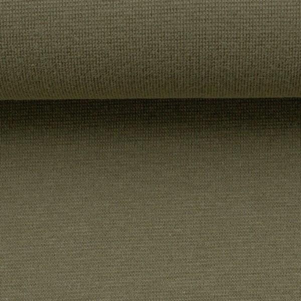 Heike, Schlauchware **Öko-Tex Standard 100**, Bündchen, uni olivegrün